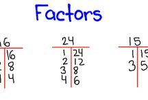 Math / by Cheryl Wooden