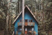 Cabins, Cottages & Coziness