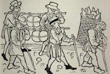 Mittelalter Transport / Behälter