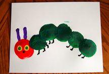 Eric Carle Theme in Preschool / by Stacey Feehan