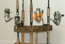 Fishing Rod Displays