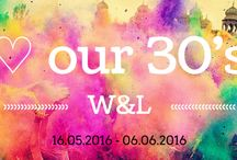 ♡ our 30's / Shine on! ♡ ook in onze 30's!