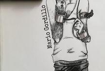 illustration is my! / ilustraciones a mano básicas en colores, marcadores, lapices , micropuntas, lapiceros donde yo soy el protagonista
