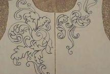 díszítő rajzok