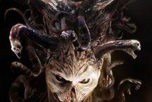 демон / Идеи для тату