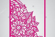 открытки ажурные
