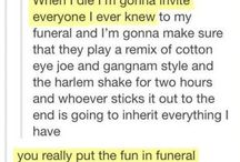 how i want my funeral