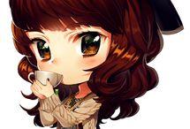 anime garota