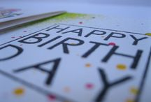 Happy Birthday Card. / Art Impressions. My Cards