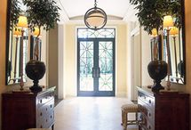 DECOR | entries : halls : foyers / by Joanne D'Amico