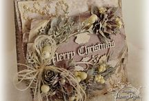 Christmas cards - vintage style