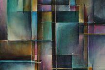 abstraktni malba