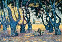 Signac / Storia dell'Arte Pittura  19°-20° sec. Paul Signac 1863-1935