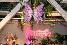 Jillian's Jungle / #LillyPulitzer #BatMitzvah #MitzvahDecor