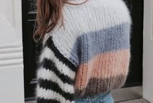 Stylish Outfits / Cozy sweaters, cute skirts, distressed jeans Oh My!