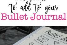 Bullet Journal Goal