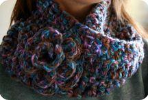 Gorros y bufandas crochet