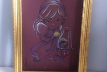 precious moments, pop, classic disney and more !! / dessin papier canson 24X32