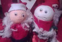 Christmas decorations - Joulun koristeita / DIY for christmas