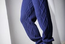 Вязание - брюки, юбки