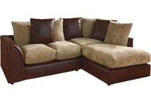 Comfy sofa and tv
