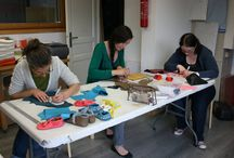 Sewing classes at the C&C workshop