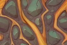 handpainted textures