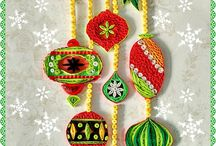 Quilled Christmas Decorations