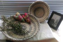 плетение из газет Хлебницы