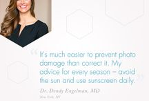 #DermsKnow and #BackedByScience / Tips from skincare professionals.