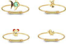 22Kt Gold Bangles / http://zomint.com/jewellery/kids-jewellery/bangles-bracelets.html- Gold Bangle Collection for the little Kids. 22Kt Hallmarked Gold. Free Insured Shipping across India. 100% Certified Jewelry.