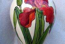 Handpainted ceramic
