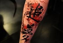 Chinees tattoo