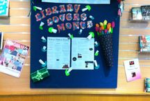 Library display / Love your local library