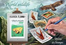 New stamps issue released by STAMPERIJA | No. 340 / UGANDA 25 11 2013 - Code: UGN13301a-UGN13308b
