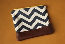 Zipper Pouches / Samples and inspiration for your Modern Textiles Zipper Pouch Kit! / by Modern Textiles