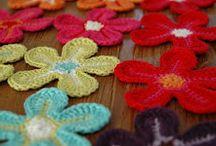 Háčkování  -  květiny