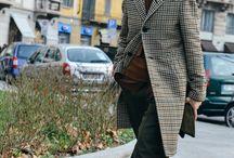 Milan Street Style 2015 / Milan White Trade Show Street-style by Tommy Ton