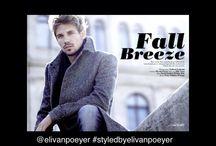 FALL BREEZE featuring Peter Winkler September 2013 / Photographer: Norbert Zsoyolmi  Styling: Eli van Poeyer Make-up: Fibi Veger Hair: David Erlich  Model: Peter Winkler