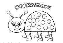 coloriages à gommettes / Mes coloriages à gommettes que j'ai dessiné pour les enfants