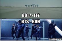 GOT7 & BTS