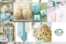 {Trending} Something Blue / Something old, something new. Something borrwed, something blue. | A Something Blue theme is so perfect for an engagement party, bridal shower, or even for a wedding reception!