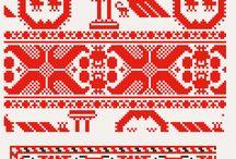 cross stitch - patterns / by Becky Moyer