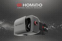 Kính thực tế ảo Homido / Hình ảnh thiết kế cùng với đánh giá chi tiết về kĩnh thực tế ảo Homido.