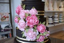 Cake & Cake Table Flowers / by FLOWERS ON ORCHARD LANE