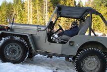 Older Jeeps Pre CJ