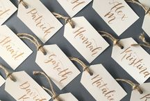 OUR CALLIGRAPHY WORK - by Emerald Paper