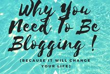 how to succeed in blogging. / The tips, tricks, hacks + motivating stories for blogging success!