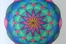 My very own mandala's......