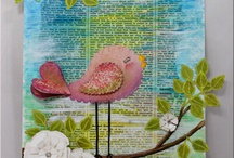 Mixed Media & Art Journaling Inspiration